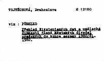 Přehled životopisných dat a umělecké činnosti členů Městských divadel pražských do konce sezóny 1980/81
