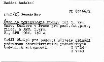 Úvod do psychologie hudby