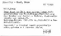 Dean Reed erzahlt aus seinem Leben