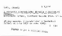 Z historie ochotnického divadla v Kardašově Řečici
