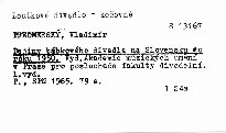 Dejiny babkoveho divadla na slovensku do