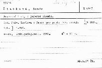 Pracovní listy z jaderné chemie