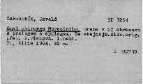 Omyl chirurga Moresiniho