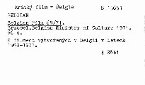 Belgian film 69/71.