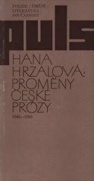 Proměny české prózy 1945-1985