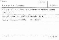 Výstavnictví, n.p. Praha, v českoslovens