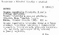 Soupis repertoáru Národního divadla v Praze 1881-1983                         ([3. díl])