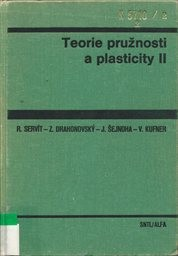 Teorie pružnosti a plasticity 2