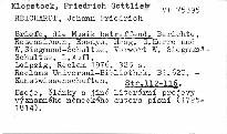 Briefe, die Musik betreffend