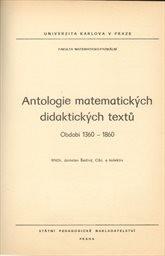 Antologie matematických didaktických textů