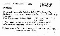 Pražský sborník historický 17