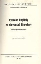 Vybrané kapitoly ze slovenské literatury