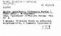 Zprávy Společnosti Vítězslava Nováka 5