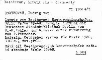 Ludwig van Beethovens Konversationshefte