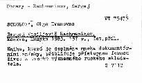 Sergej Vasiljevič Rachmaninov
