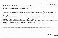 Elektrotechnická ročenka 1982