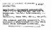 Encyklopedia slovenskych spisovatelov