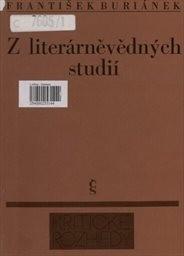 Z literárněvědných studií