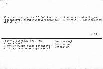 Russko-češskij i češsko-russkij patentnyj slovar