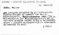 Das deutsche Sololied im 19. Jahrhundert