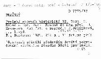 Pražský sborník historický 18