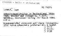 Arbeitermusikkultur in Deutschland 1844-
