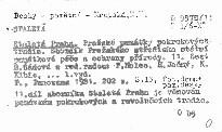 Staletá Praha                         ([Sv.] 11,)
