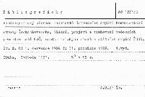 Bibliografický přehled dokumentů ústředních orgánů Komunistické strany Československa, článků, projevů a rozhovorů vedoucích představitelů KSČ, zastupitelských sborů a státních orgánů ČSSR