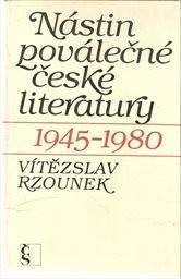 Nástin poválečné české literatury 1945-1980