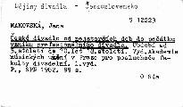 České divadlo od nejstarších dob do počátku vzniku profesionálního divadla