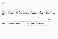 Bibliograficky zbornik 1984.; Bibliografický zborník 1984