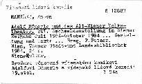 Adolf Bauerle und das Alt-Wiener Volksth