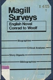 English Novel Conrad to Woolf