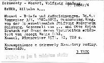 Mozart - Briefe und Aufzeichnungen                         (Bd. 6)