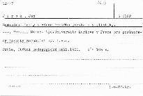 Seminární texty k výuce českého jazyka a