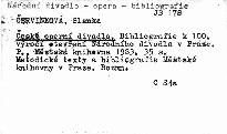 České operní divadlo
