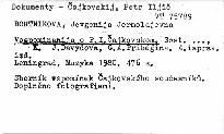 Vospominanija o P. I. Čajkovskom