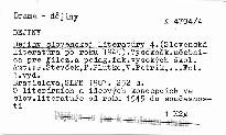 Dejiny slovenskej literatúry 4