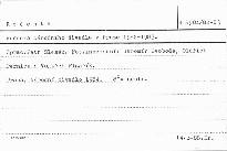 Ročenka Národního divadla v Praze 1982-