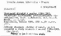 Slovenské divadlá v sezóne 1984-1985