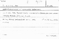 Analyticko-synteticke zpracovani informa
