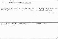 Vyhláška FMD č. 41/1984 sb., o podmínkách