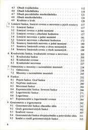 Sbírka úloh z matematiky pro SOŠ a studijní obory SOU                         (Část 1)