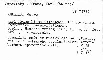Karl Kraus liest Offenbach