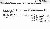 Mozart - Briefe und Aufzeichnungen                         (Bd. 1,)