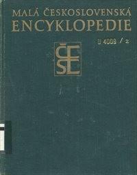 Malá československá encyklopedie                         ([Díl] 2,)