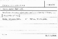 Zdravotnictví ČSSR 1983