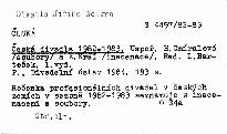 Česká divadla 1982-1983