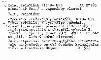 Vzpomínky pražského písničkáře