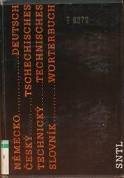 Německo-český technický slovník